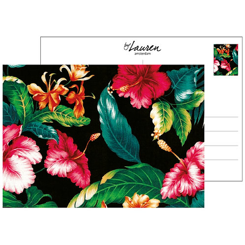 ticket to the tropics postcard