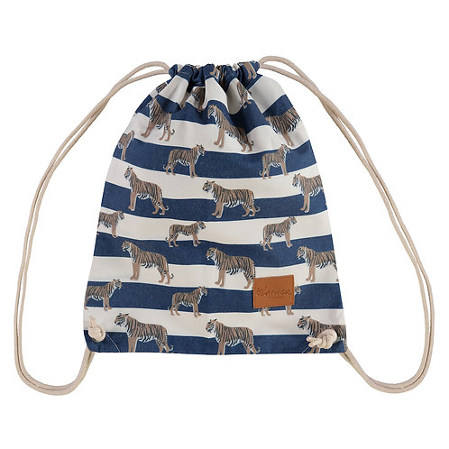 tigers & stripes royal navy kids rugzak