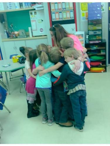 Group Hug, Wellborn Elem, Anniston, AL