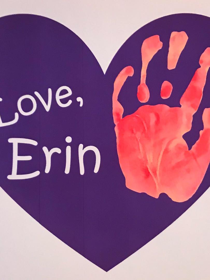 Love, Erin Logo