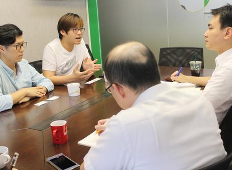 外交合作計畫:「立言香港」智庫召集人張秀賢、巫堃泰