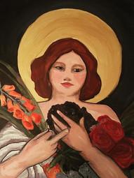 Quiet goddess with loud hands #goddess #
