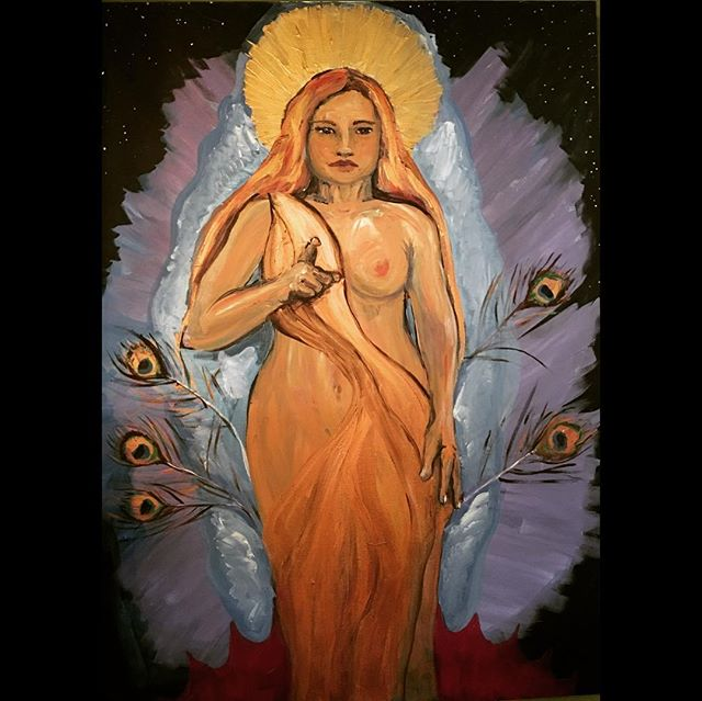 Find your power goddess #artistsoninstag