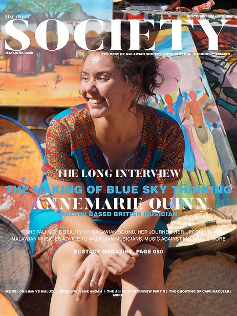 Cover 1 - Society Magazine - May June 20