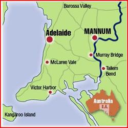 Aust and SA Map