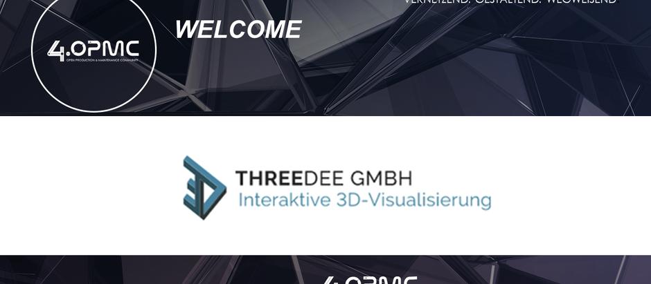 ThreeDee GmbH ist seit dem 01.01.2020 neues 4OPMC-Mitglied!