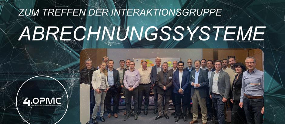 ABRECHNUNGSSYSTEME - ein Review zum Treffen