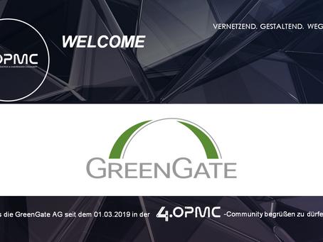 Die GreenGate AG unterstützt 4OPMC als Mitglied