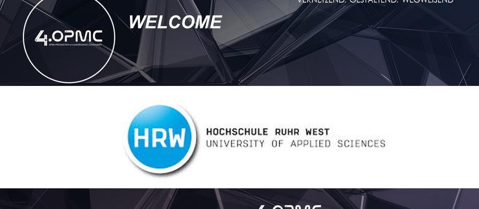 Die Hochschule Ruhr-West ist seit dem 01.10.2019 Mitglied bei der 4OPMC-Community!