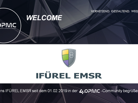 IFÜREL EMSR unterstützt 4OPMC als Mitglied