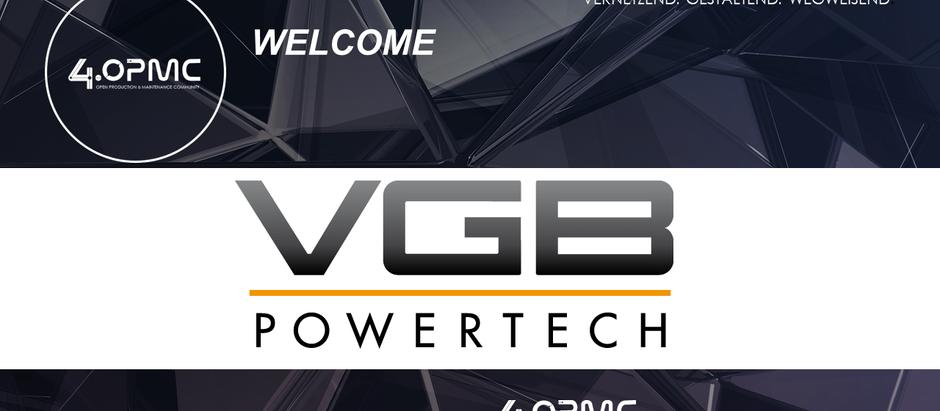 VGB PowerTech e.V. ist seit dem 01.09.2019 Mitglied der 4OPMC-Community!