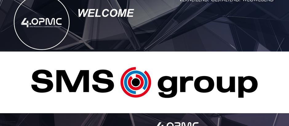SMS Group GmbH ist seit dem 01.09.2019 neues 4OPMC-Mitglied!