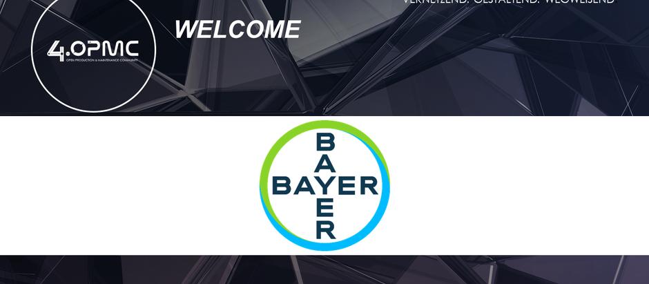 Bayer AG ist ab dem 01.12.2019 neues 4OPMC-Mitglied!