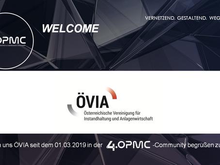 ÖVIA unterstützt 4OPMC als Mitglied