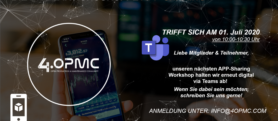 "Online Konferenz der ""App-Sharing"" Interaktionsgruppe 01.07.2020"
