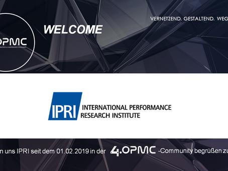 Das International Performance Research Institute unterstützt 4OPMC als Mitglied
