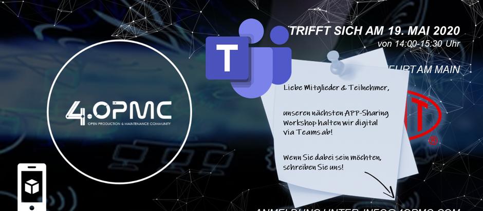 "Online Konferenz der ""App-Sharing"" Interaktionsgruppe 19.05.2020"