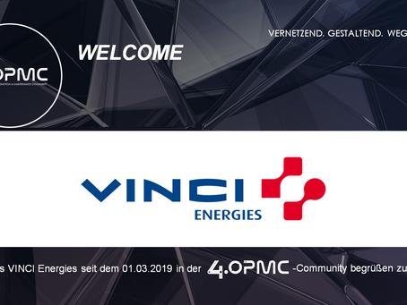VINCI Energies unterstützt 4OPMC als Mitglied