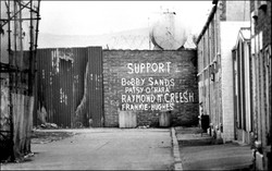 Hunger Strikers 'peace' wall
