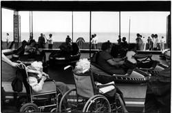 Wheelchairs and dodgems 1970
