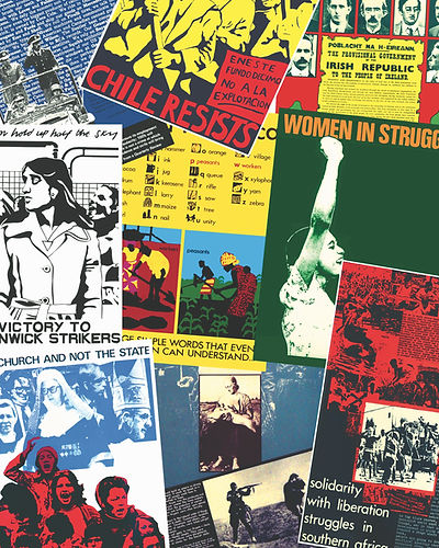 """Art as a Mass Political Weapon"" The Poster Collective 1972-1982"
