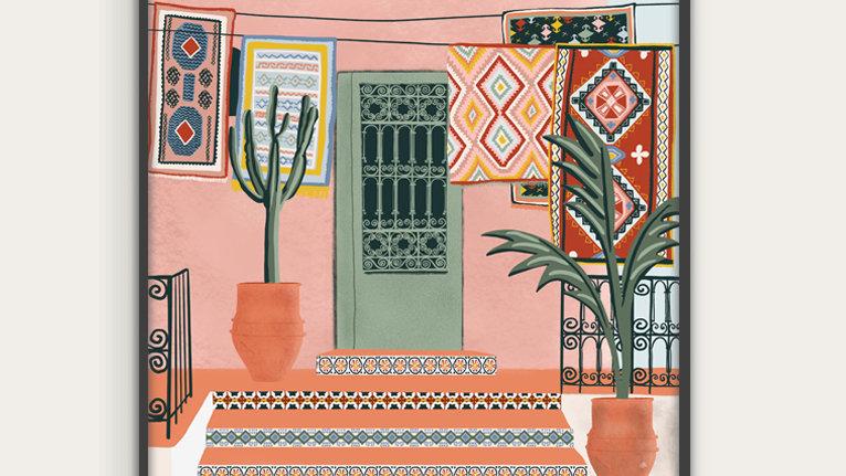 Moroccan Terrace House