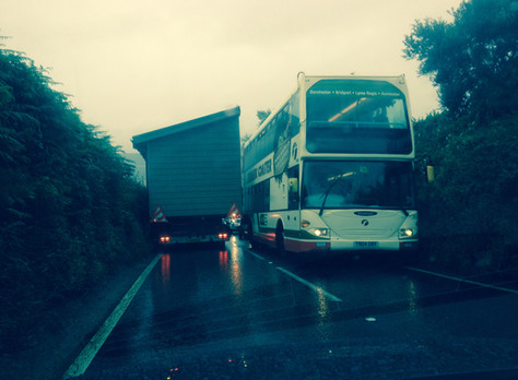 Coming into Chideock on Highways Englandsstrategic routethe A35 and we ask is this really fit for