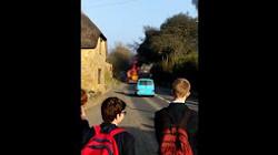 Lorry fire 2015