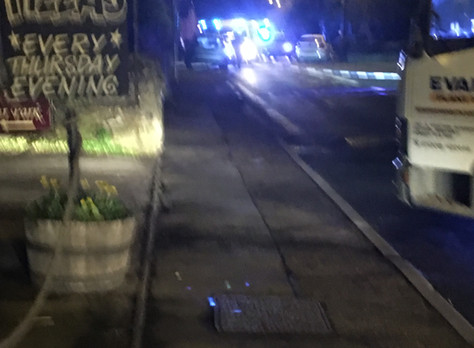Two car head on crash near Park Farm in Chideock A35 Main Street- road closed in both directions fo