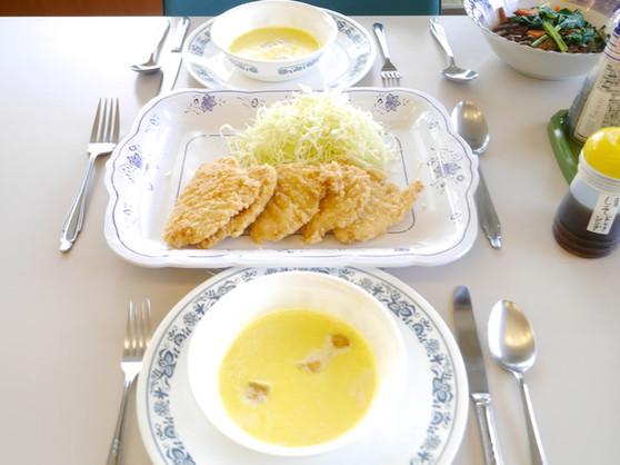 浦安国際キリスト教会・リトリート第二日目昼食