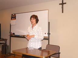 ステラ宣教師・リトリート第一日目集会