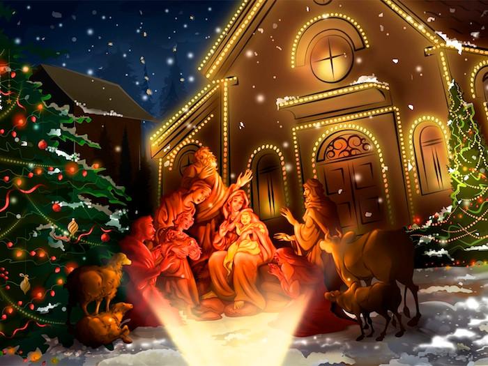 救い主イエス・キリストのご降誕