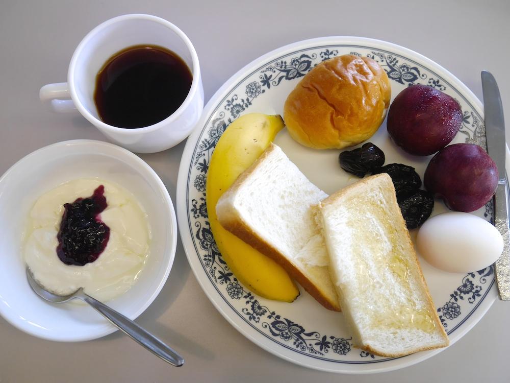 黙想の家での朝食