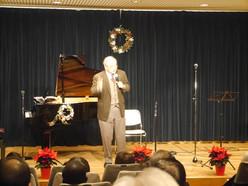 奥平牧師ご挨拶〜浦安国際キリスト教会クリスマスコンサート