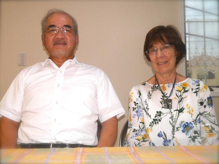 奥平牧師ご夫妻 Pastor Kazuaki & Missionary Stella