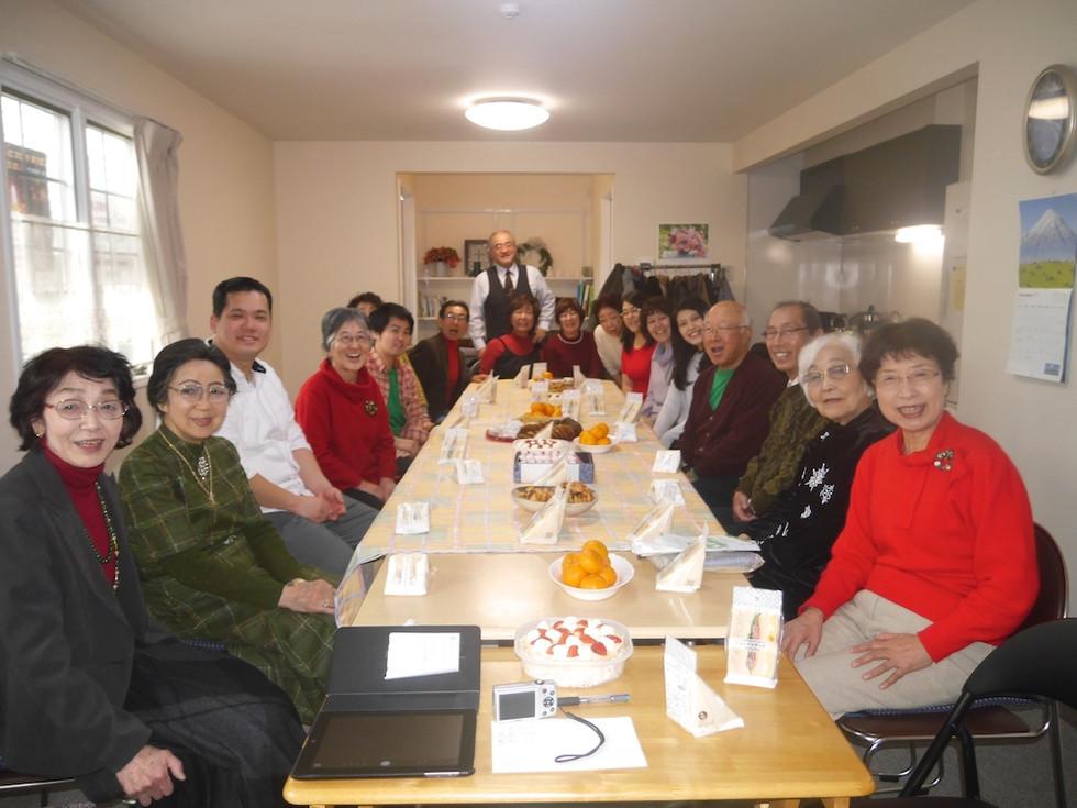 浦安国際キリスト教会クリスマスランチ