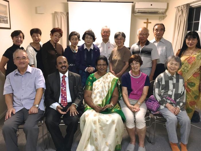 V. G. Selvaraj牧師をお迎えして—浦安国際キリスト教会
