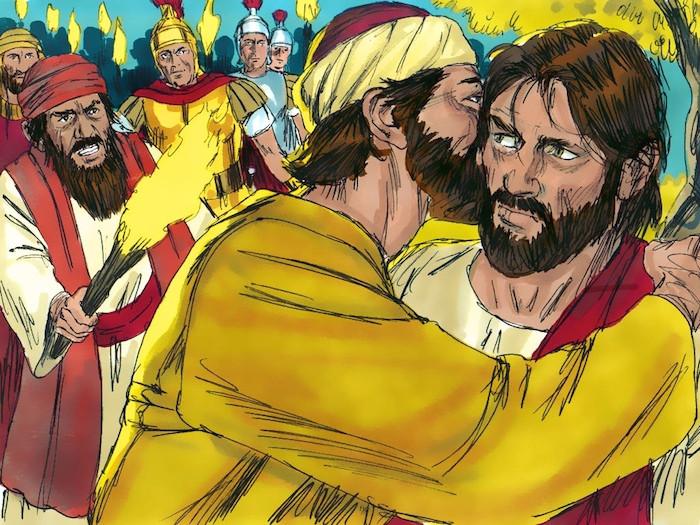 イエスの逮捕 The Arrest of Jesus