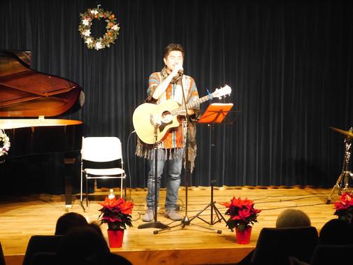 横山大輔オンステージ〜浦安国際キリスト教会クリスマスコンサート