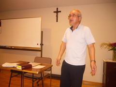 奥平牧師・リトリート第一日目集会