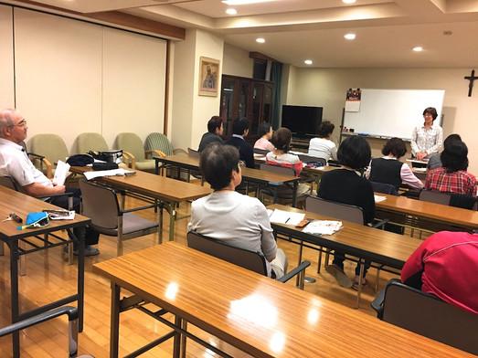 浦安国際キリスト教会・リトリート第一日目集会
