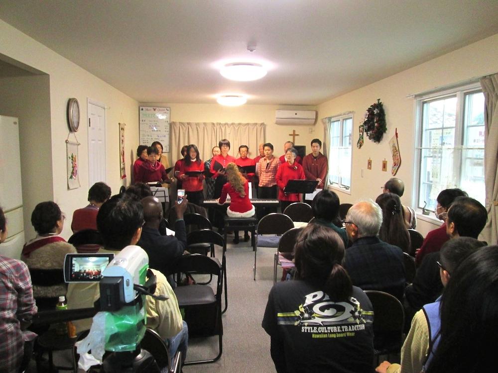 浦安国際キリスト教会ゴスペル隊