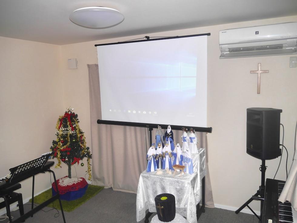 浦安国際キリスト教会クリスマス礼拝