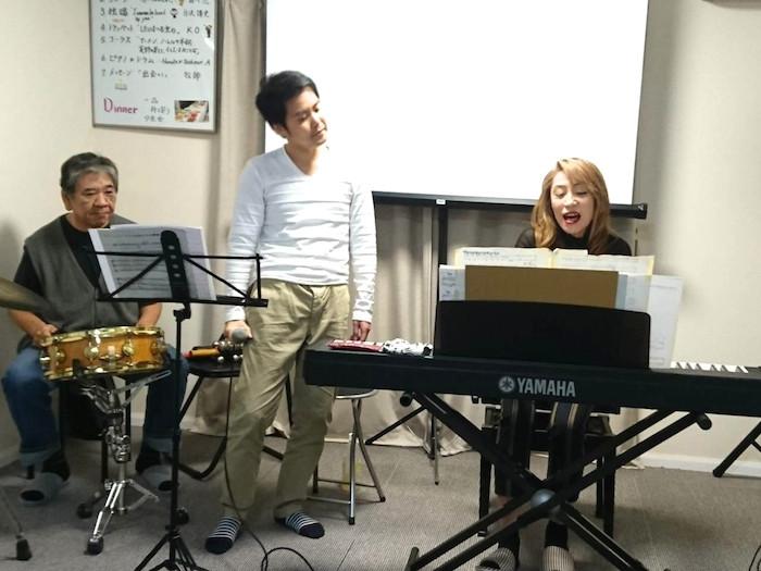 ピアノ・安西七子 ドラム・安西由典