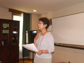 浦安国際キリスト教会・リトリート第二日目集会