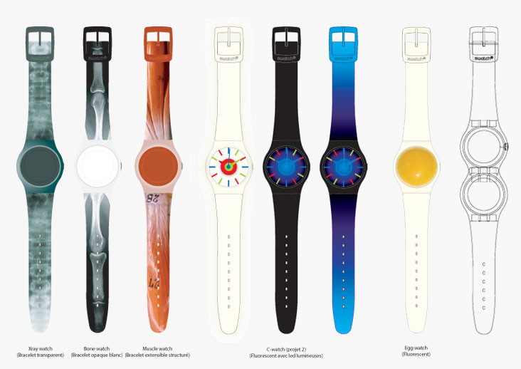 Design projects for Swatch