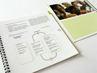Brochure for the World Health Organization