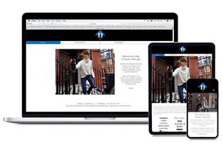 D-Mode fashion store website