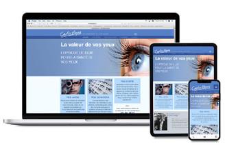 Carlos Hoyas eyewear store website
