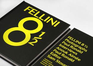 Fellini 8 1/2 book design